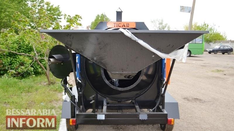 С ямами на дорогах в Аккермане будет бороться новый рециклер