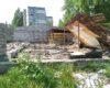 В Белгород-Днестровском неизвестные распили на металл здание бывшего универмага