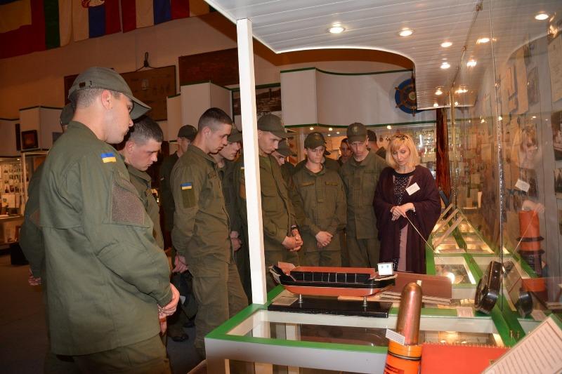 Нацгвардейцы, которые проходят службу в Измаиле, посетили музей УДП