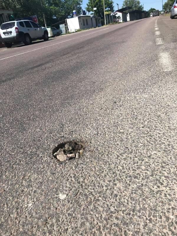 «Асфальтовые кроты или дураки и дороги»: на трассе Одесса-Рени испортили дорожное покрытие