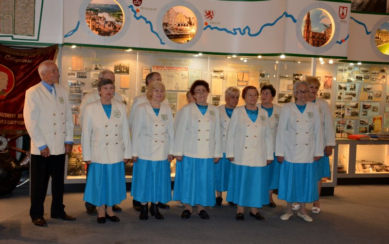 В Измаиле музей УДП посетили учащиеся Военно-морского лицея