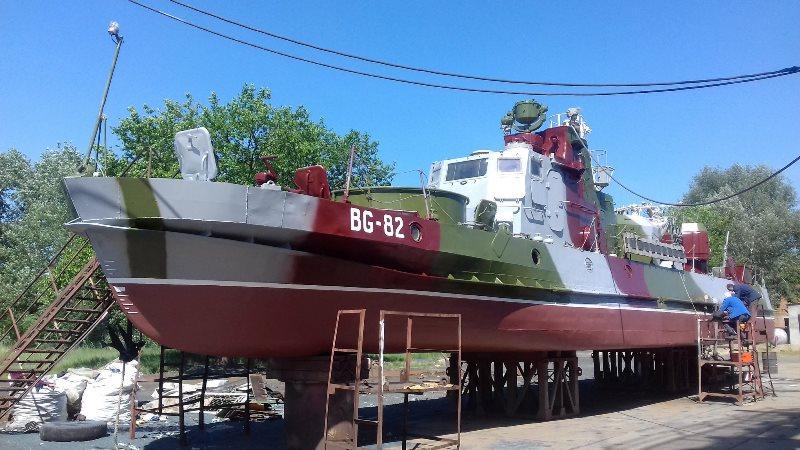 В Измаиле закончили ремонт ещё одного пограничного сторожевого катера