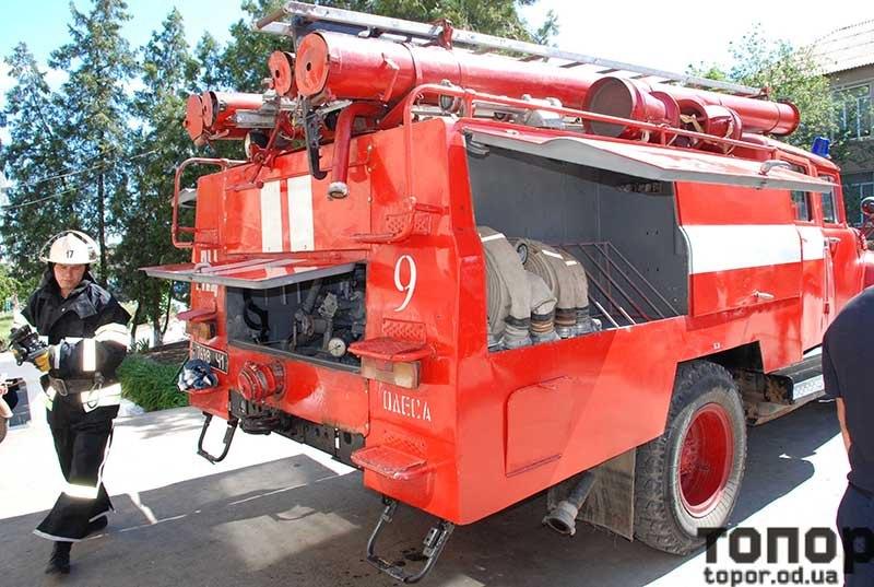Болградский р-н: в Криничном появилась новая пожарная машина - прежняя сгорела при пожаре