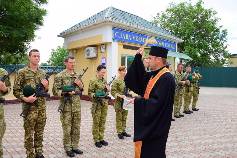 В Измаиле новоиспеченные пограничники приняли воинскую присягу