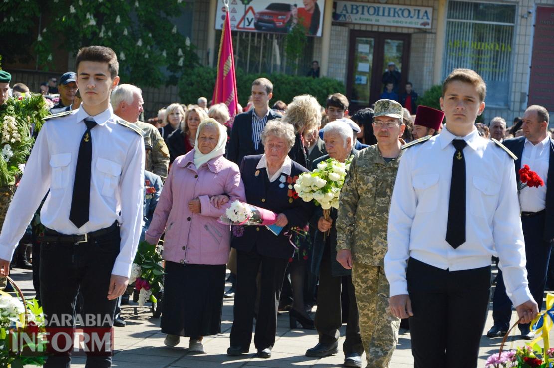 Килия отпраздновала День Победы: торжественное шествие, военный концерт, солдатская каша и активный отдых