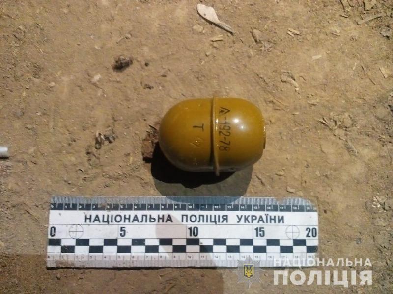 У жителя Арцизского района полицейские изъяли осколочную гранату