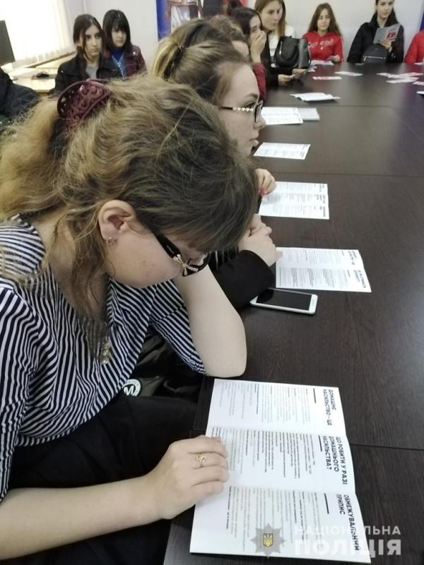 В Измаиле студентам рассказали как противостоять насилию и не допускать его распространение