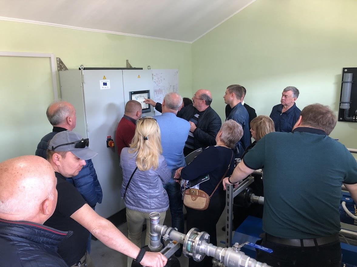 Киевские чиновники приехал в Вилково перенимать опыт строительства вакуумной канализации