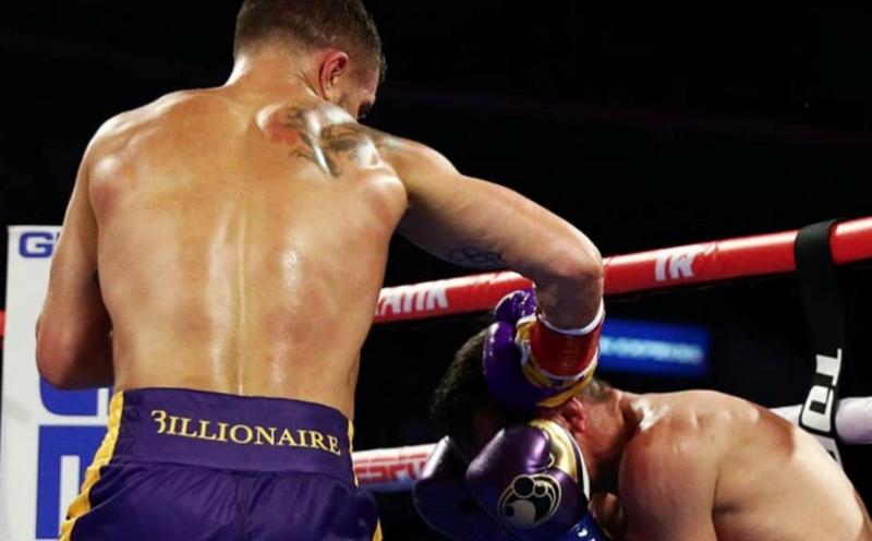 Нокаут Ломаченко в бою с Кроллой признан лучшим по версии WBA