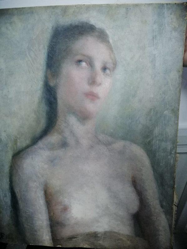 В ПП «Паланка-Маяки-Удобное» пограничники обнаружили картины неизвестных авторов