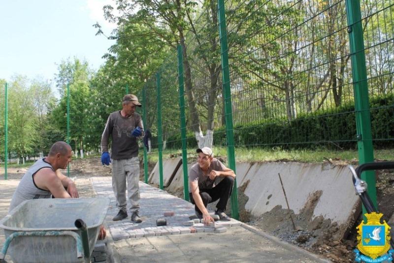 В селах Арцизского района активно строятся спортивные площадки и мини-стадионы