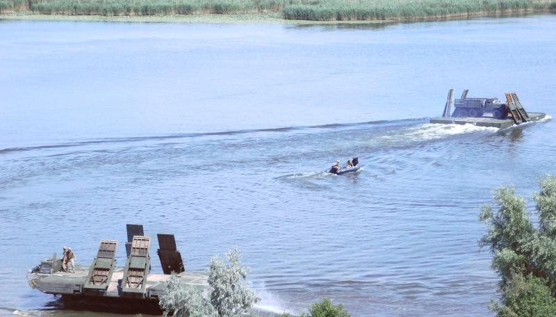 Тренировались форсировать водную преграду: аккерманские понтонщики приняли участие в  масштабных учениях