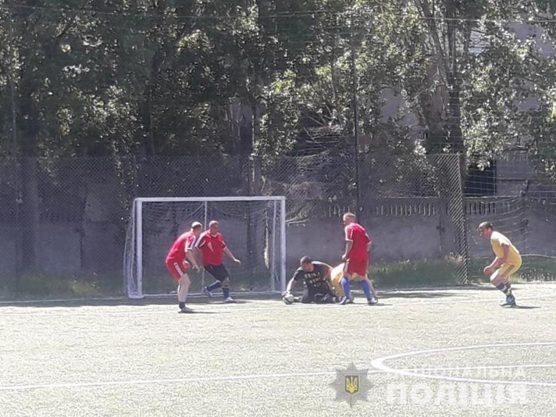 В Аккермане состоялся турнир по мини-футболу среди полицейских