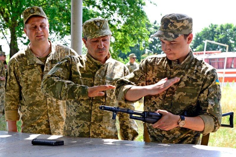 У резервистов Арцизского и Белгород-Днестровского районов проходят учебные сборы