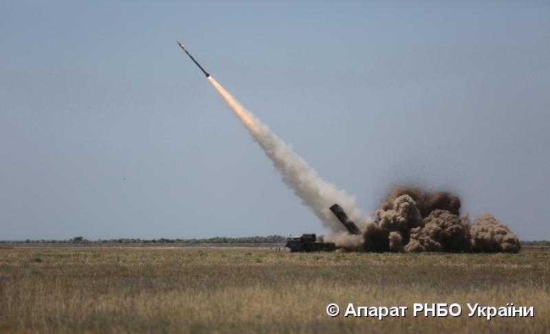 В Татарбунарском районе военные успешно провели испытания модернизированных ракет