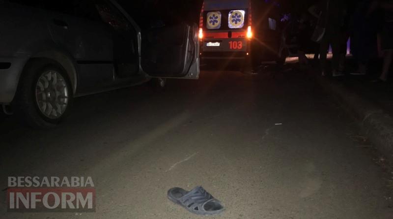 В Измаиле на Нахимова сбили велосипедиста