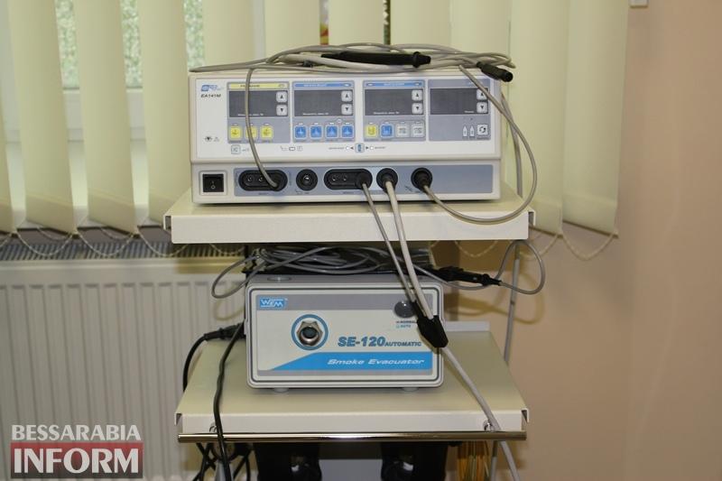 Измаил: в районной поликлинике установили не имеющий аналогов в Бессарабии аппарат для лечения гинекологических патологий