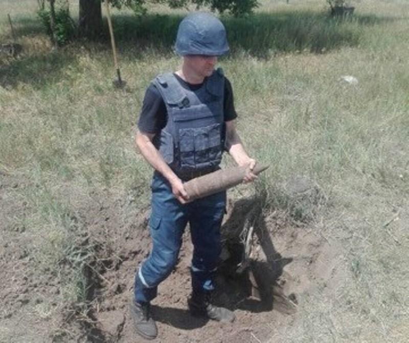В Измаильском районе пиротехники изъяли и уничтожили арсенал боеприпасов времен Второй мировой войны