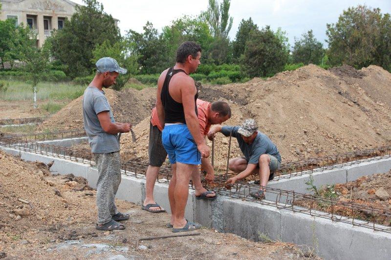В селе Вишневое Татарбунарского района строят новую амбулаторию, в которой будет предусмотрена квартира для врача