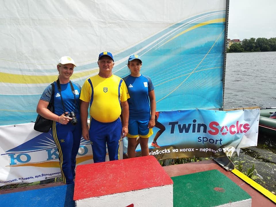 Вилковские спортсмены уверенно завоевывают медали на Всеукраинском чемпионате по гребле на байдарках и каноэ