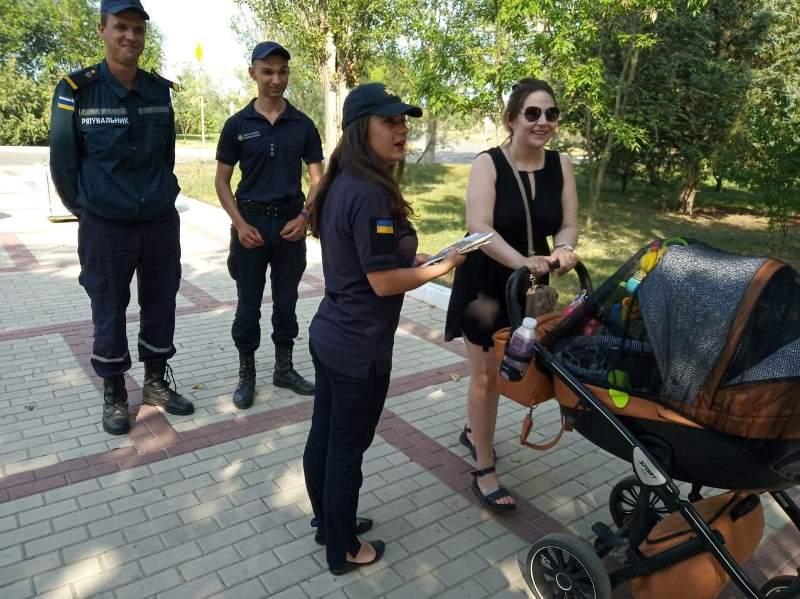 Предотвращение пожаров в природных экосистемах: спасатели Измаила провели профилактический рейд на набережной Луки Капикраяна