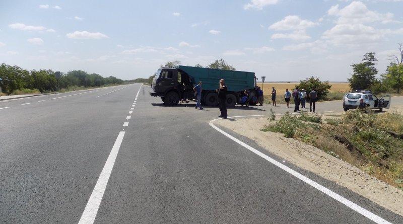 Фермеры из Белгород-Днестровского района вышли с протестом на трассу Одесса-Рени