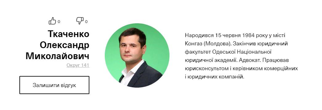 """Партия """"Слуга народа"""" опубликовала список мажоритарщиков: кто идет в Раду от Бессарабии"""