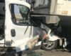 Водитель уснул за рулем: в Одесской области микроавтобус врезался в грузовик