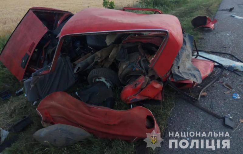 Смертельное ДТП на Одесчине: три человека погибли, четверо пострадали