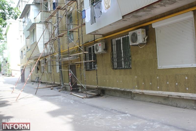 """В Измаиле """"сворачивают"""" капитальный ремонт дома, в котором расположен штаб партии """"Слуга народа"""""""
