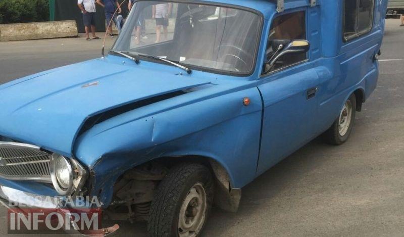 BMW vs Москвич: в результате ДТП в Броске пострадал ребенок