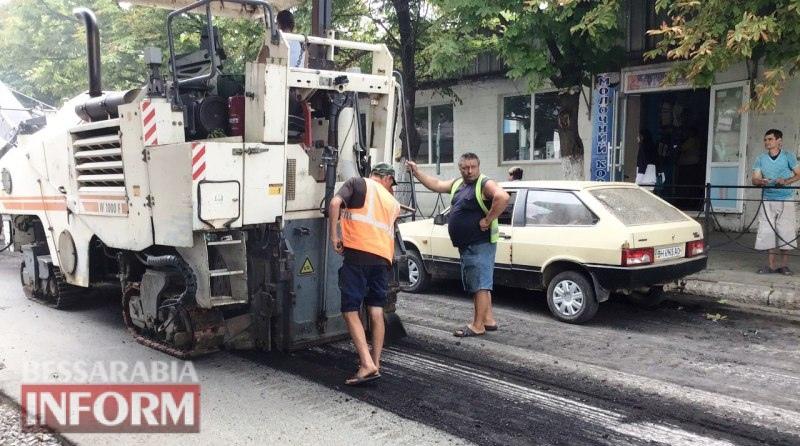 Ремонт дороги, тротуаров и придомовых территорий: на аккерманских улицах кипит работа