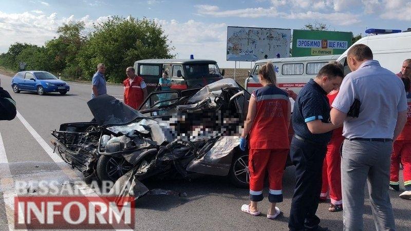 Лобовое столкновение на трассе Одесса-Рени: четверо погибших, в том числе ребенок