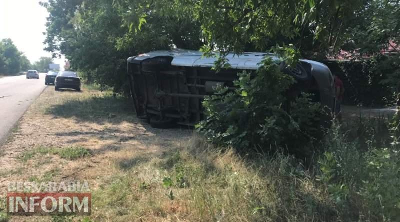 На трассе Одесса-Белгород-Днестровский лопнувшее колесо стало причиной ДТП