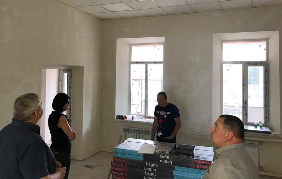Ремонтные работы в Килийском инклюзивно-ресурсном центре обещают завершить за пару недель
