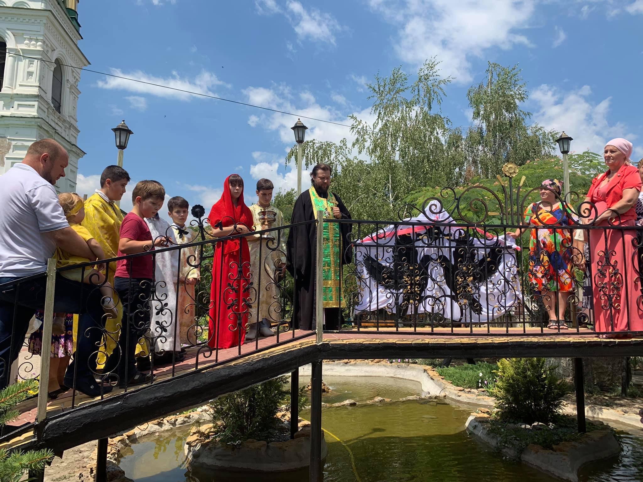 В Килии появился мостик для влюбленных