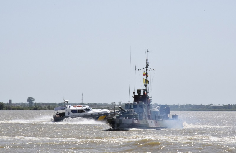 «Си Бриз - 2019» на Дунае: морские пограничники отработали комплекс задач на реке