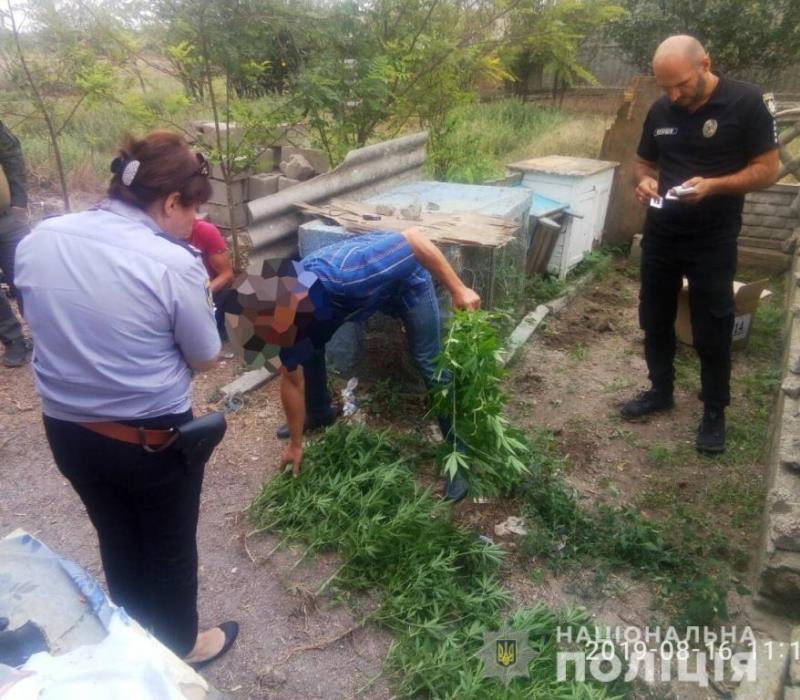 """В Килийском районе во время спецоперации полиция разоблачила очередного """"наркоагрария"""""""