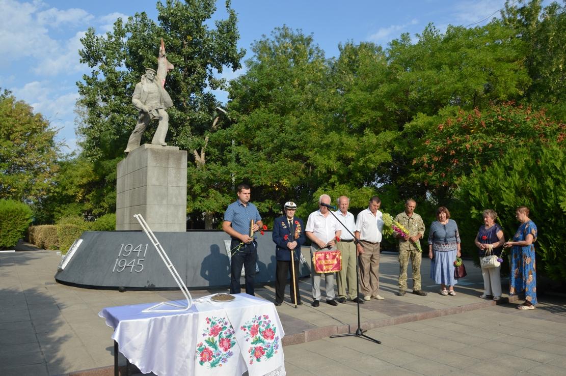 75 лет мира: в Килии отметили годовщину освобождения и приняли Эстафету памяти