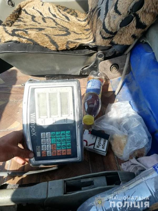 В Измаильском районе задержали машину с 800 кг незаконно добытого металлолома