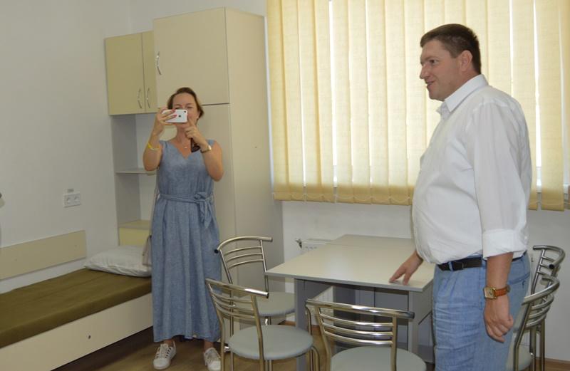 В Белгород-Днестровском районе построено новое общежитие улучшенной планировки для военных