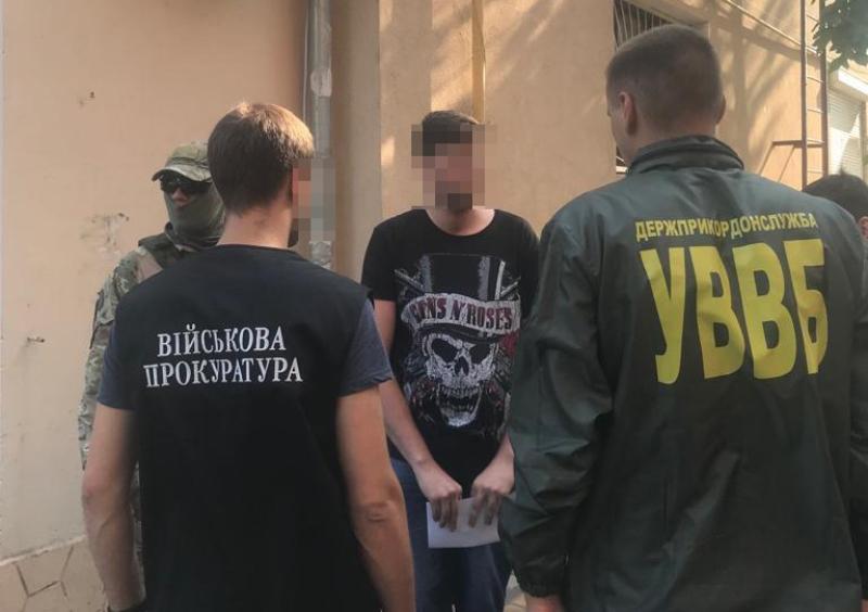 В Измаиле за распространение наркотиков среди сотрудников погранотряда и морской охраны был задержан пограничник