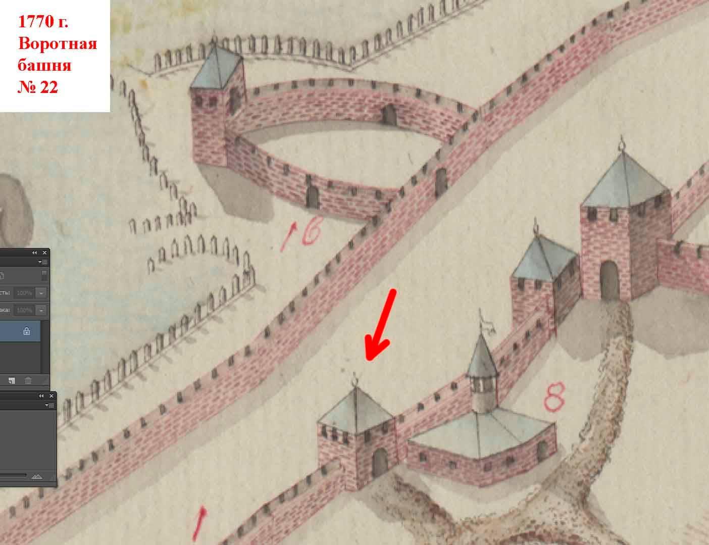 Дыра в верхней части стены воротной башни: Аккерманской крепости грозит разрушение
