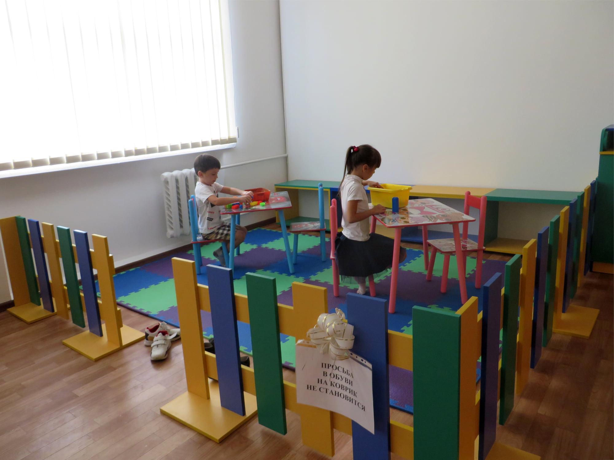 Килийские семейники обзавелись современным игровым уголком  для маленьких пациентов прямо в здании Поликлиники