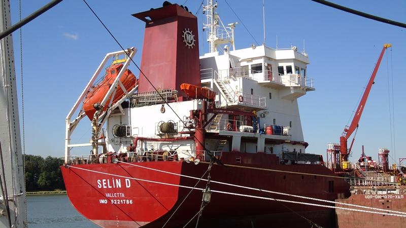 С начала года Измаильский морской порт перевалил 60 тысяч тонн масла