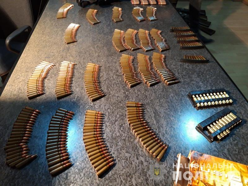 В Измаиле задержали двух местных жителей, которых подозревают в торговле оружием