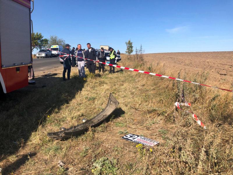 Одесская область: при столкновении маршрутки и бензовоза погибло девять человек (видео 18+)