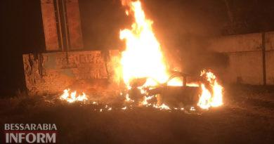 В Килийском районе вследствие ДТП два человека сгорели заживо во взорвавшемся автомобиле (обновляется)