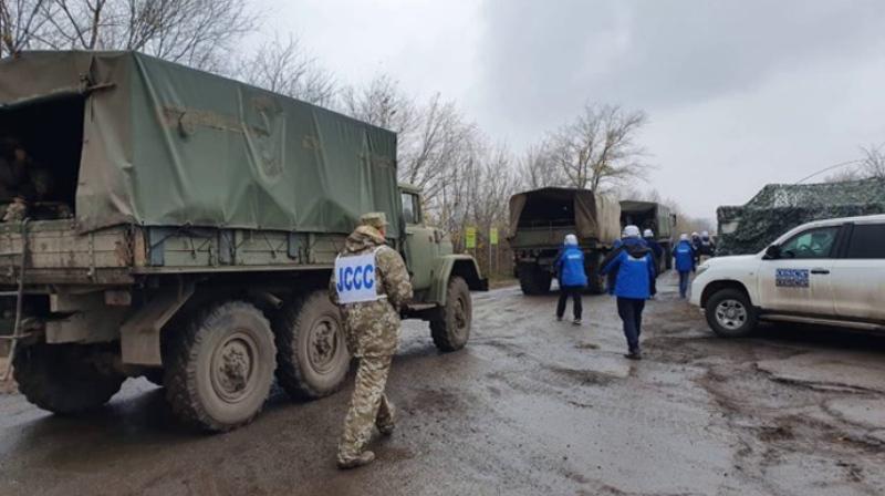 Штаб ООС подтвердил разведение войск в Золотом