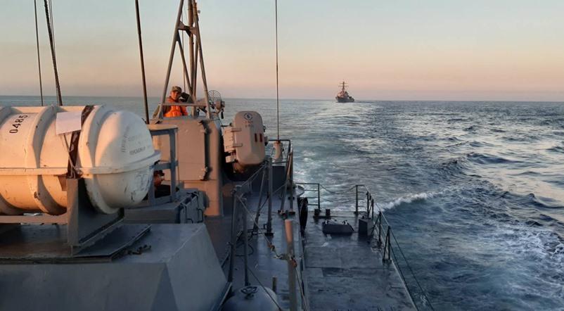 ВМС Украины совместно с американскими и румынскими коллегами провели учения в Черном море
